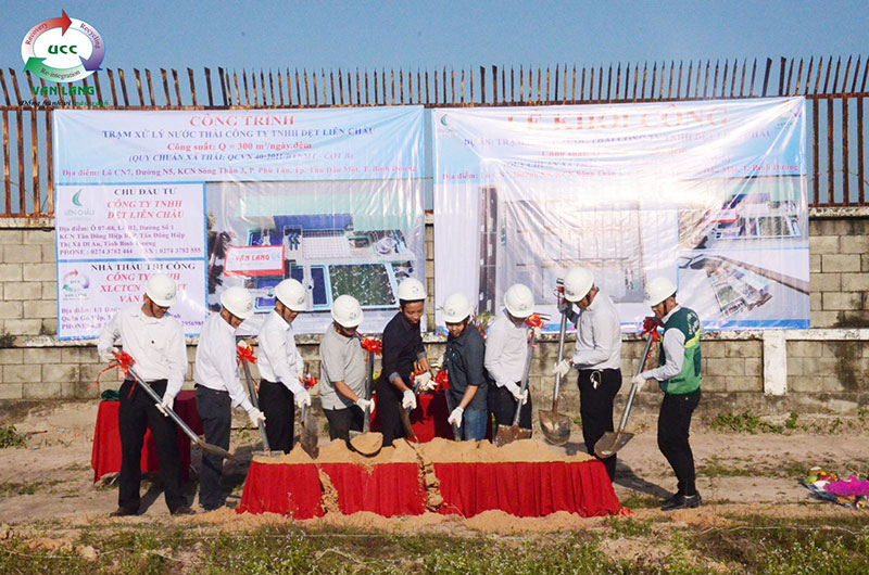 "PROJECT GROUND BREAKING CEREMONY ""WASTEWATER TREATMENT PLANT"" LIEN CHAU TEXTILE COMPANY LIMITED """