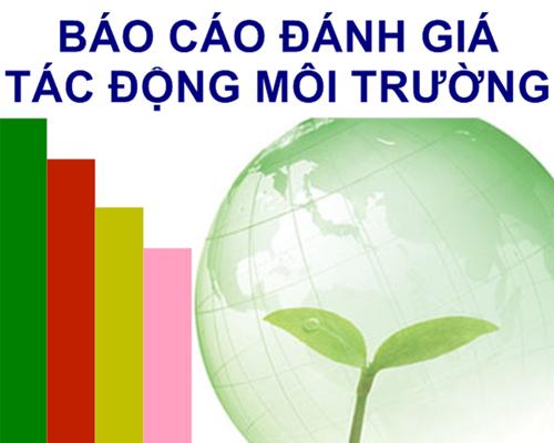 Đối tượng phải lập báo cáo đánh giá tác động môi trường