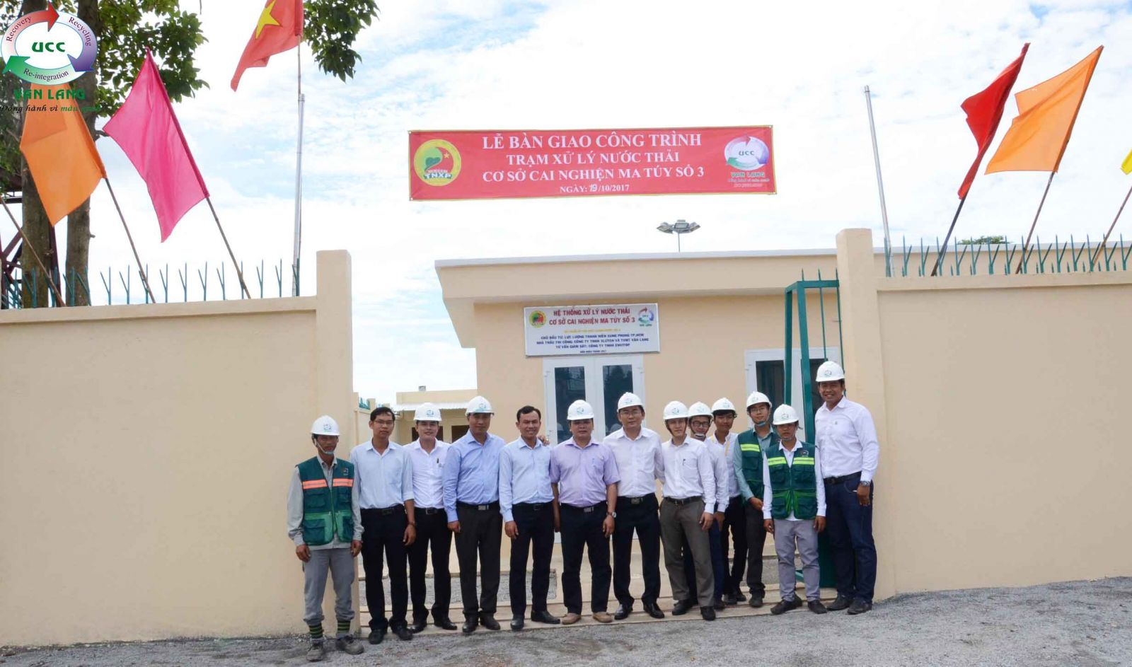 Hand-over Ceremony: The Waste Water Treatment Plant Of Detoxification Center No.3 (Binh Duong province)