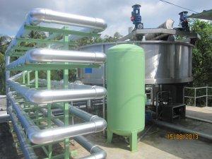 """Bàn giao, nghiệm thu đưa vào sử dụng Công trình: """"Trạm xử lý nước thải thủy sản Gò Đàng Bến Tre, công suất Q = 1.000 m3/ngày.đêm"""""""