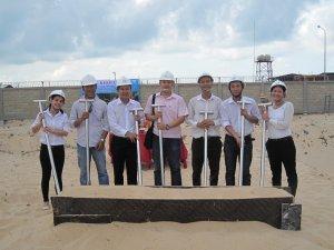 Lễ khởi công công trình Trạm xử lý nước thải Farm Hatchery CP Bà Rịa - Vũng Tàu