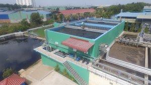 Nghiệm thu, bàn giao công trình Cải tạo Nhà máy xử lý nước thải KCN Long Bình