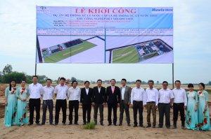 Lễ khởi công công trình KCN TMTC