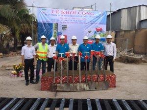 Lễ khởi công dự án: Trạm xử lý nước thải Nhà Máy Chế Biến Dừa Lương Quới