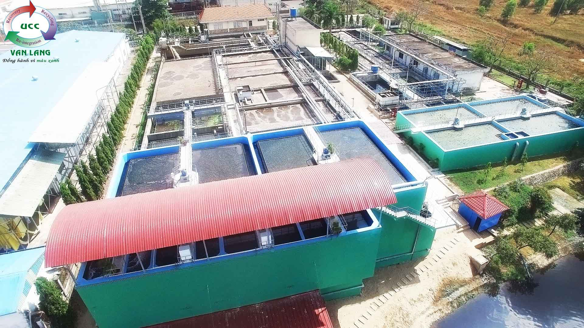 THE WASTEWATER TREATMENT PLANT OF LONG BINH INDUSTRIAL ZONE