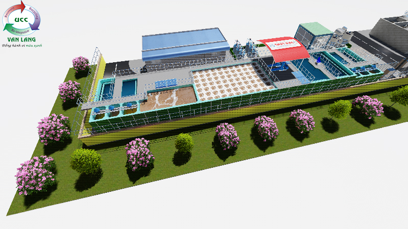 THE TEXTILE WASTEWATER TREATMENT PLANT OF SUNJIN CO., LTD, BINH DUONG PROVINCE