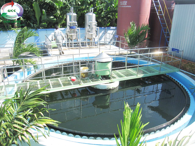 THE WASTEWATER TREATMENT PLANT  OF FROZEN SEAFOOD PROCESSING FACTORY FRESH FISH 1
