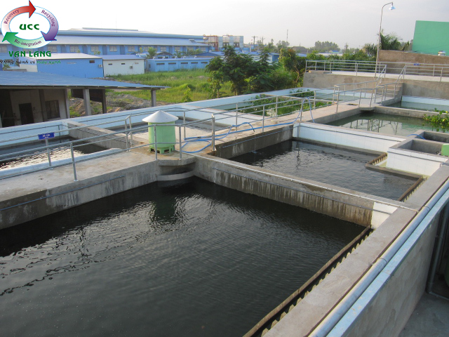 THE WASTEWATER TREATMENT PLANT OF A CHAU SEAFOOD PROCESSING FACTORY