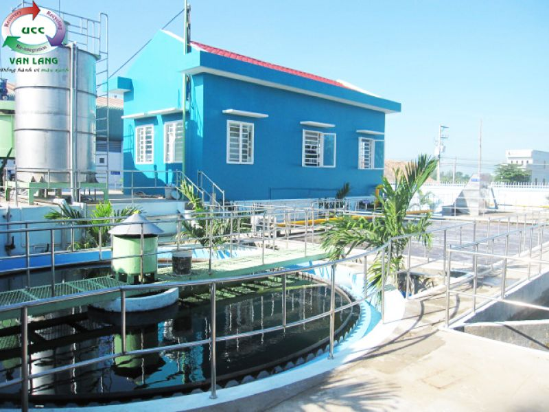 THE WASTEWATER TREATMENT PLANT OF FROZEN SEAFOOD PROCESSING FACTORY AFIEX