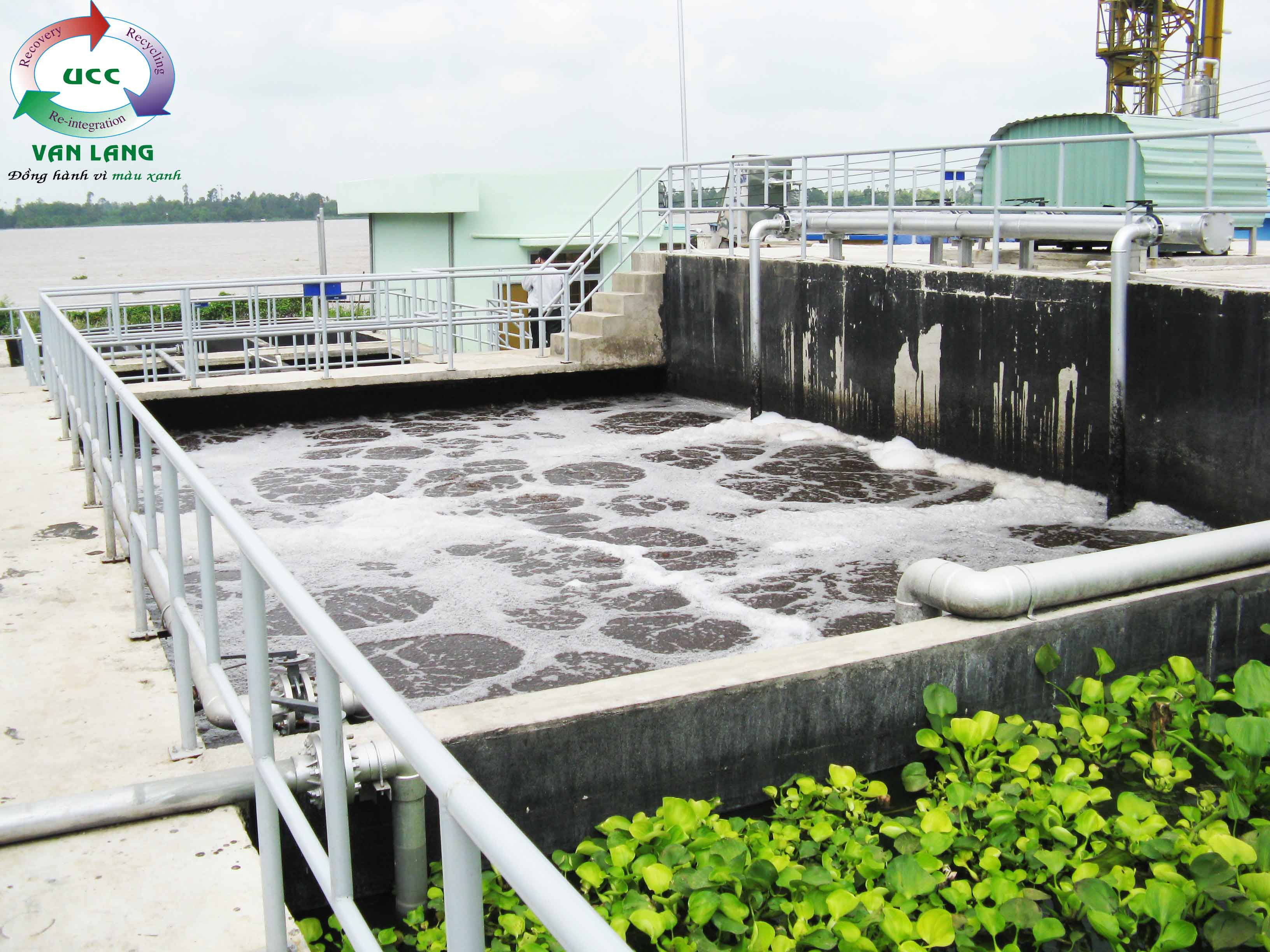 THE WASTEWATER TREATMENT PLANT OF SONG TIEN SEAFOOD PROCESSING FACTORY  Q = 1.000m3/day