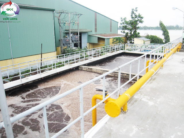 THE WASTEWATER TREATMENT PLANT OF SONG TIEN SEAFOOD PROCESSING FACTORY
