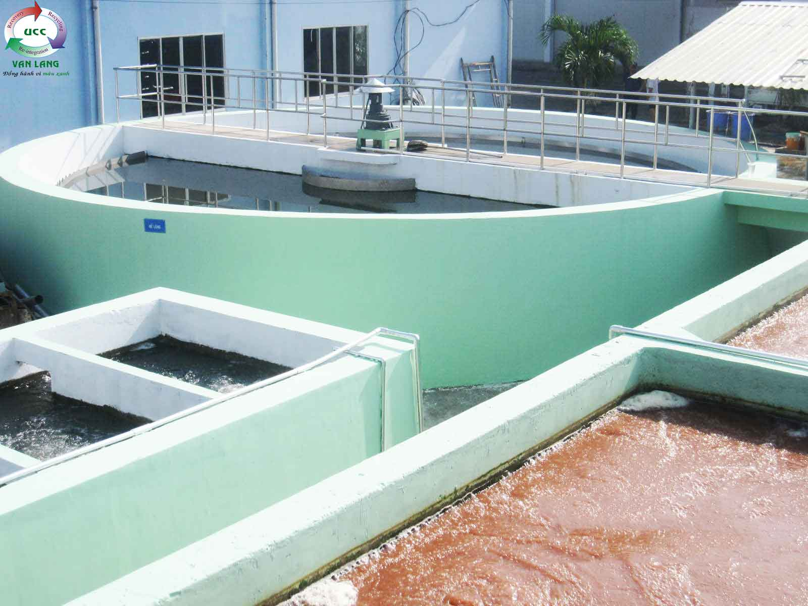 THE WASTEWATER TREATMENT PLANT OF GO DANG BEN TRE SEAFOOD FACTORY