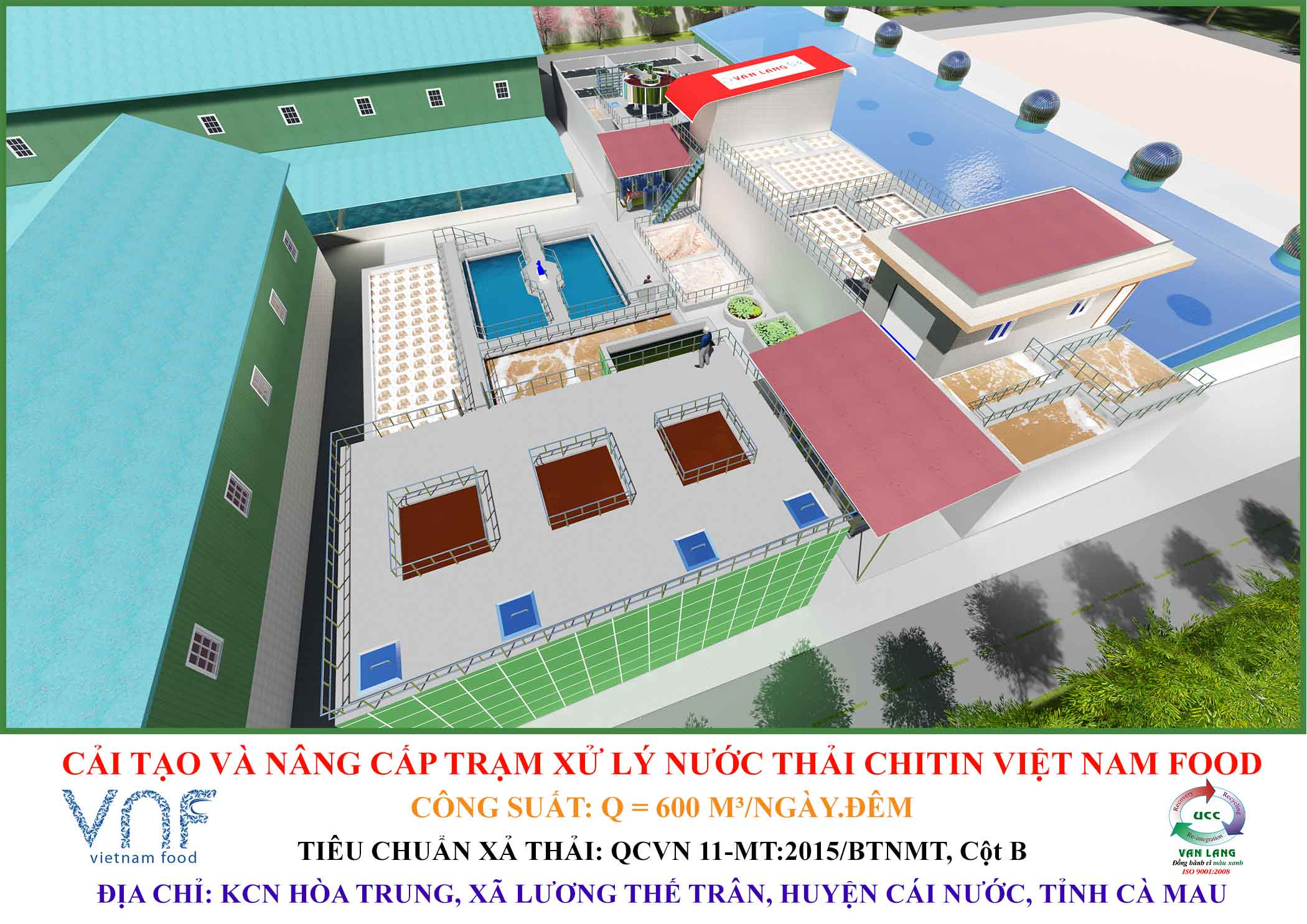CHITIN VIETNAM FOOD WASTEWATER TREATMENT PLANT