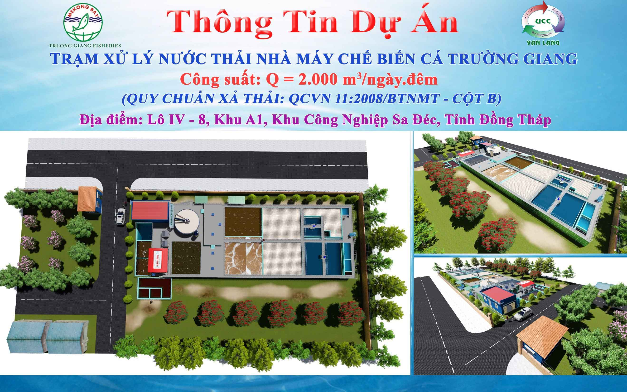 THE WASTEWATER TREATMENT PLANT  OF TRUONG GIANG SEAFOOD PROCESSING FACTORY