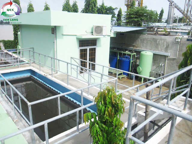 THE WASTEWATER TREATMENT PLANT OF GO DANG AN HIEP SEAFOOD FACTORY