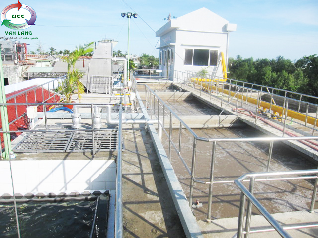 THE WASTEWATER TREATMENT PLANT  OF F69 SEAFOOD PROCESSING FACTORY