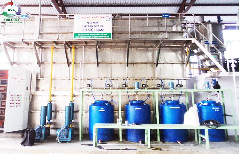 FISHMEAL WASTEWATER TREATMENT PLANT OF KG VIET NAM CO., LTD