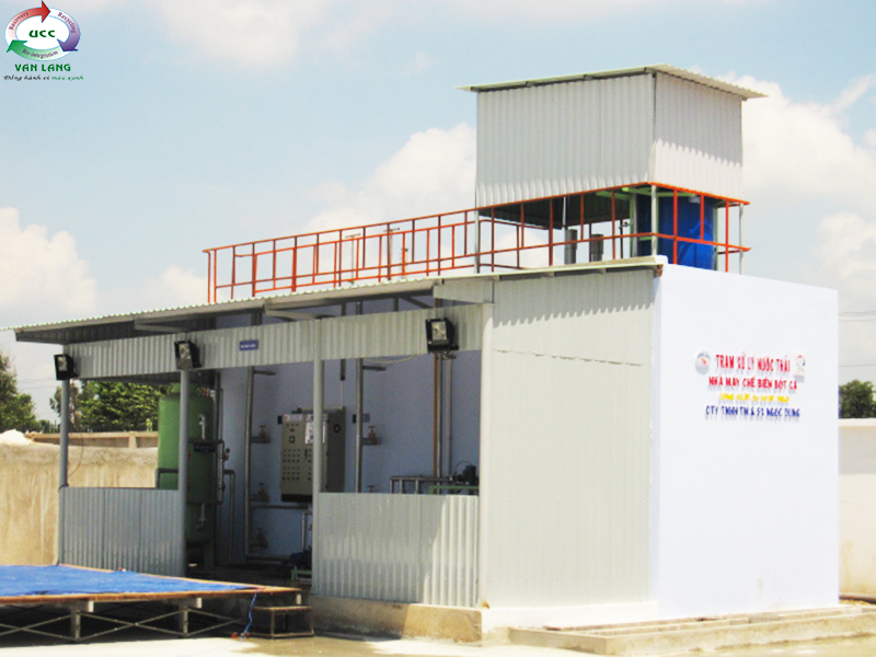 FISHMEAL WASTEWATER TREATMENT PLANT OF NGOC DUNG TRADING & PRODUCING CO., LTD