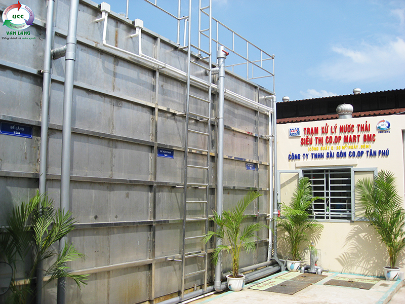 WASTEWATER TREATMENT PLANT OF MBC CO.OP MART