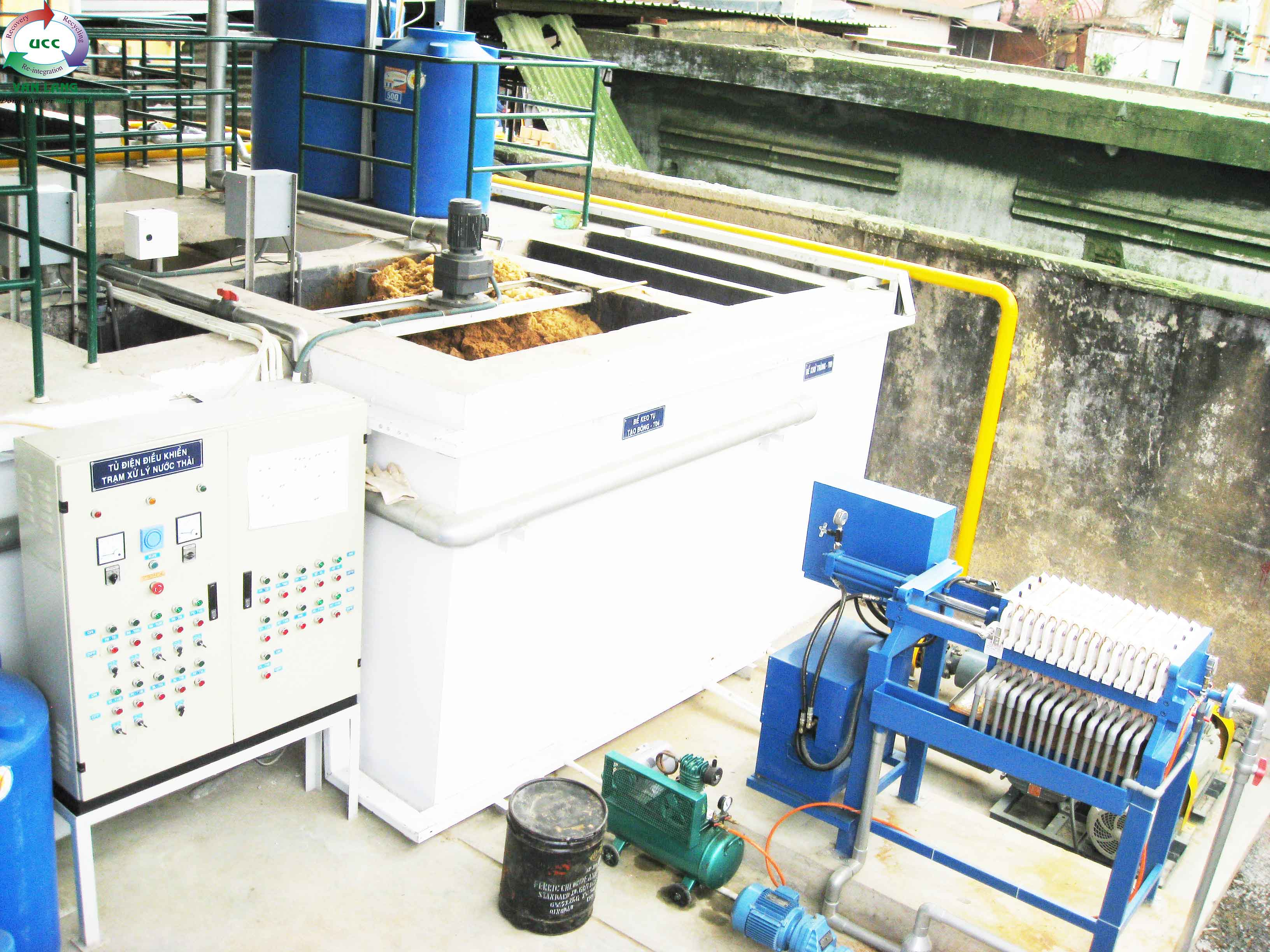 WASTEWATER TREATMENT PLANT OF CARTON PACKAGING CAPACITY