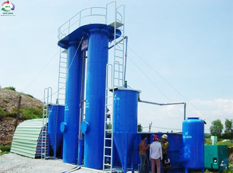 LEACHATE WASTEWATER TREATMENT PLANT OF GO CAT LANDFILL