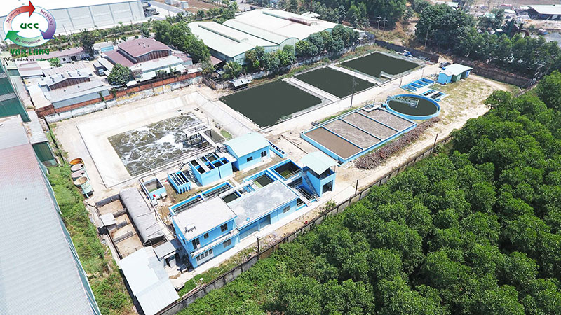 THE WASTEWATER TREATMENT PLANT OF TAN DONG HIEP INDUSTRIAL ZONE