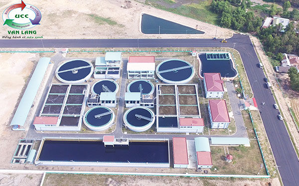THE TEXTILE WASTEWATER TREATMENT PLANT FOR INDUSTRIAL ZONE TMTC, TAY NINH PROVINCE