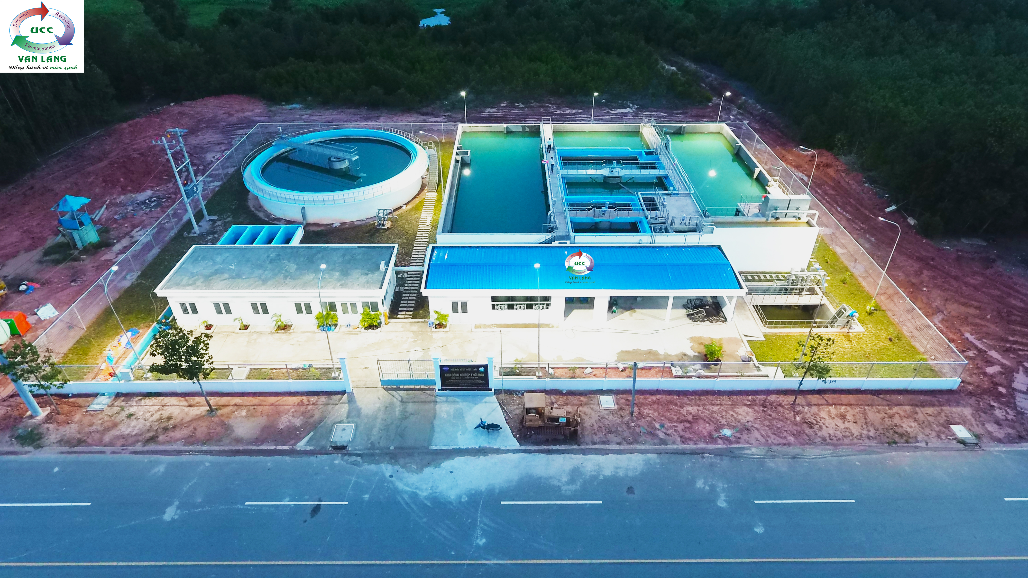 WASTE WATER TREATMENT PLANT IN THOI HOA INDUSTRIAL PARK