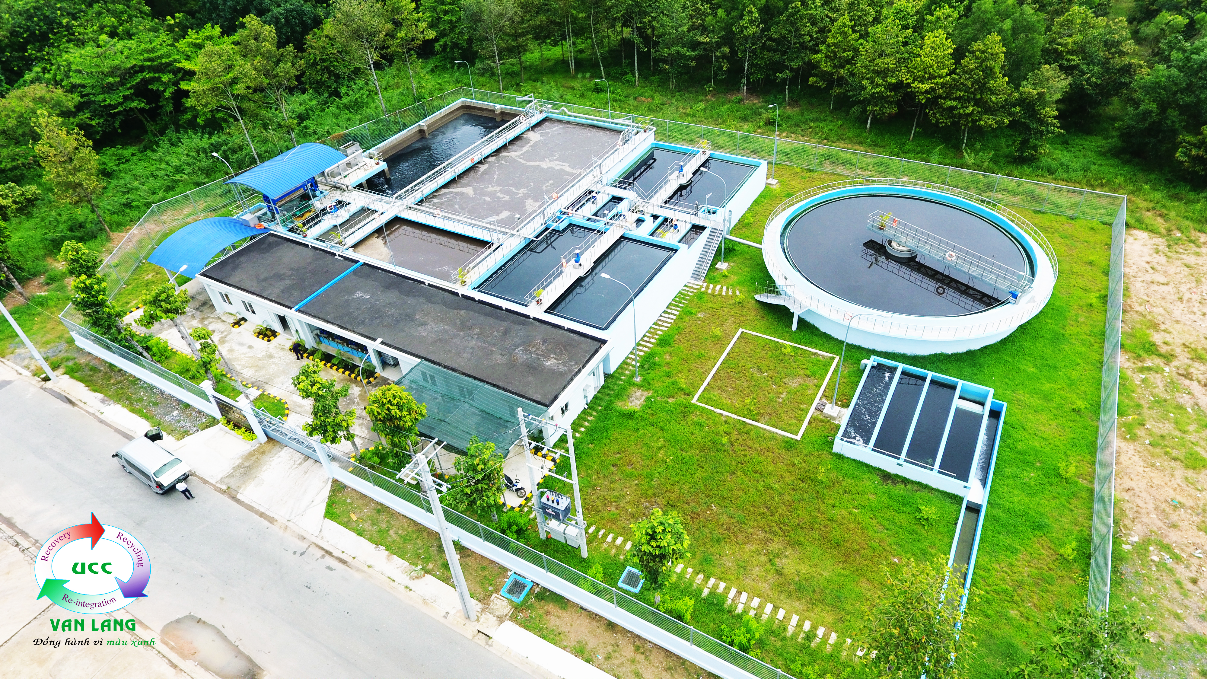 WASTE WATER TREATMENT PLANT IN MY PHUOC 1 INDUSTRIAL PARK