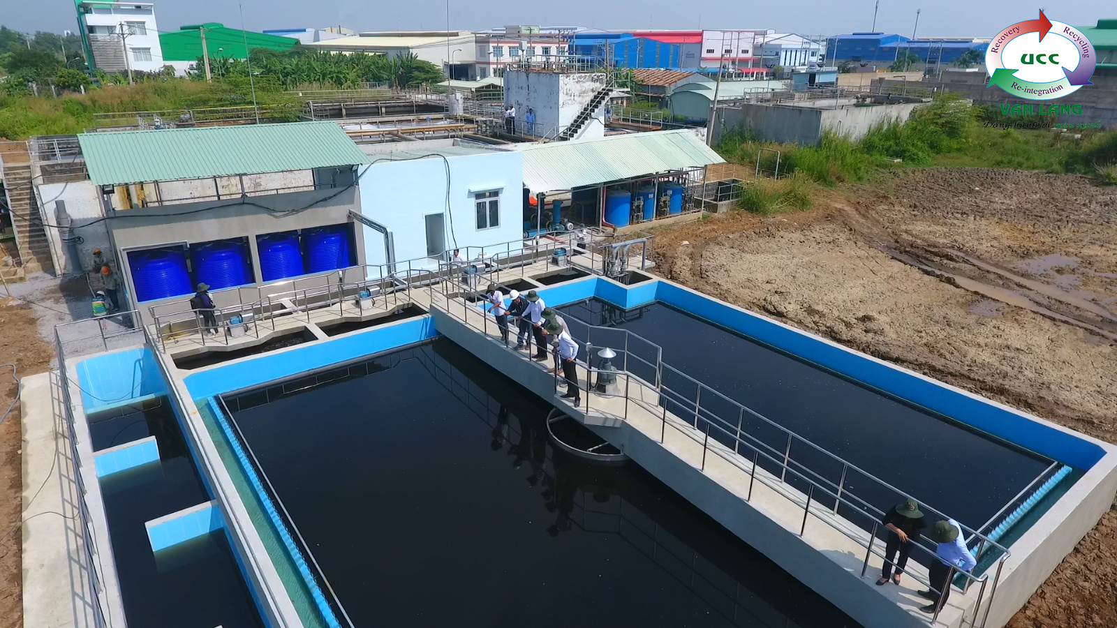 PHYSIAL AND CHEMICAL CLUSER OF WASTEWATER TREATMENT PLANT IN HAI SON INDUSTRIAL PARK
